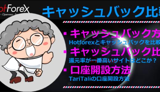 Hotforexでキャッシュバック口座の開設