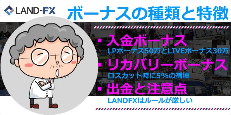 landfx ボーナス