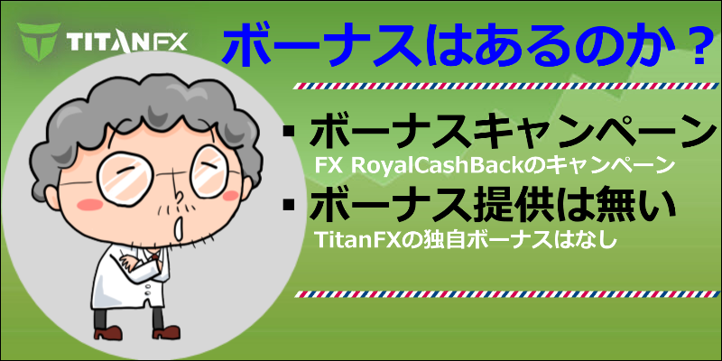 titanfx ボーナス